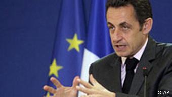 Frankreich EU Nicolas Sarkozy