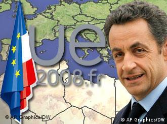 Франция - председател на ЕС до края на 2008