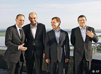 Medvedev with EU leaders