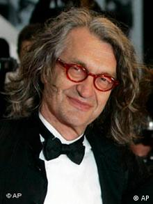 Wenders during the premiere of the film The Palermo Shooting at Cannes in 2008