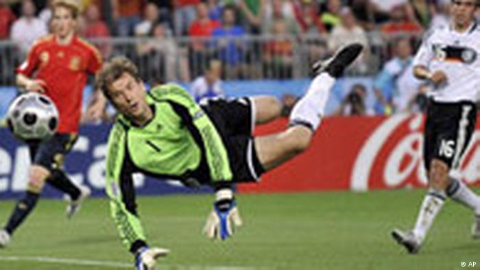 Fußball Euro 2008 Finale Deutschland Spanien Jens Lehmann (AP)