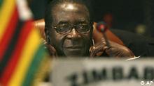 Jahresrückblick 2008 International Juni Simbabwe Robert Mugabe