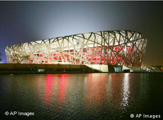 Masses of Beijing residents have been displaced to make way for the Olympic stadiums such as the Bird's Nest