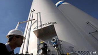 Deutschland Klima Umwelt Speicherung von CO2