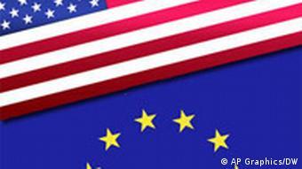 Flagge USA EU Symbolbild