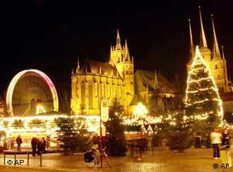 Feira de Natal em Erfurt