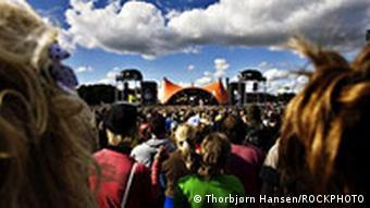 Dänemark Rockfestival Roskilde