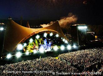 Uno de los escenarios del festival de Roskilde.