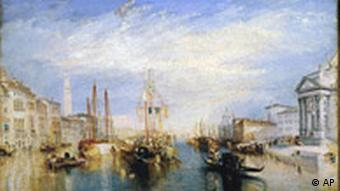 William Turner: Venice from the portal of the church of Madonna, 1835 (Quelle: AP)