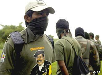 Guerrilleros de las FARC, en foto de archivo.