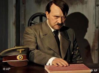 Adolf Hitler at Madame Tussaud's in Berlin