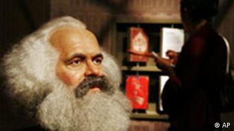 Auch Karl Marx verursachte keinen Streit, Quelle: AP