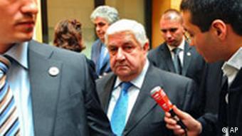 Walid al Mouallem en 2008 en Francia.
