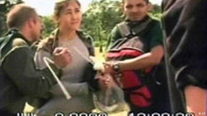 Befreiung u.a. von Ingrid Betancourt Video der kolumbianischen Armee