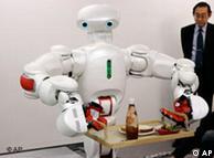 El objetivo es construir robots inteligentes que reaccionen de forma flexible ante el entorno.