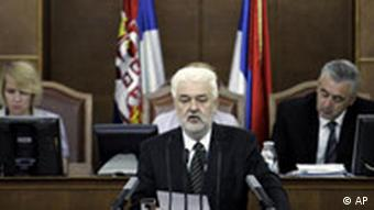 Premierminister Cvetkovic