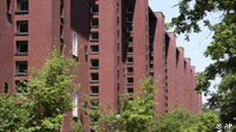 The Britz housing estate in the Neukoelln district of Berlin