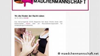 Der feministische Webblog maedchenmannschaft.net