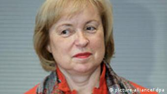Die Integrationsbeauftragte der Bundesregierung, Maria Böhmer