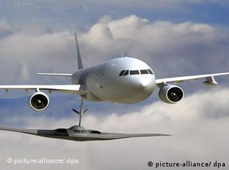 Airbus-Tankflugzeug KC-30 (Quelle: EADS)