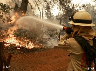 Feuerwehrmann (Quelle: AP)