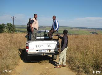 Die Ithuba-Farm in Südafrika, Foto: Bölinger/DW