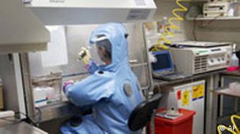 Forschung Labor Marburg-Virus