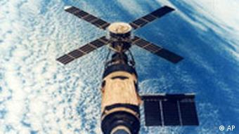 The Skylab space lab