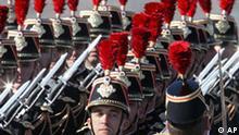 BdT Nationalfeiertag in Frankreich Militärparade