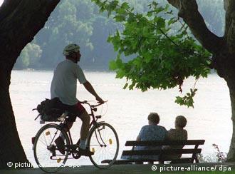 От Берлина до берегов Волги - на велосипеде
