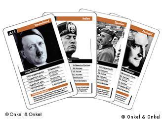 Hitler en un juego de cartas: muchos piensan que es de mal gusto.