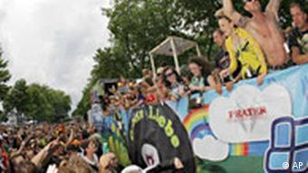 ravers at the Dortmund love parade