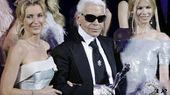 BdT, Karl Lagerfeld in Berlin geehrt (Fashion Week für Frühjahr/Sommer 2009)