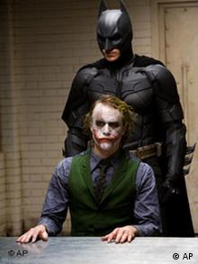 Heath Ledger, Christian Bale in Batman