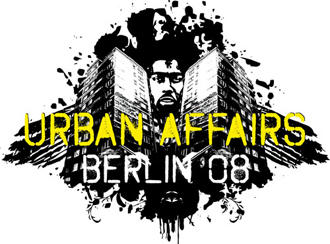 The logo for the exhibition Urban Affairs