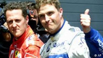 Ralf Schumacher mit Bruder Michael