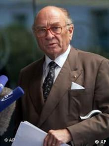 Otto Graf von Lambsdorff Zwangsarbeiterentschädigung