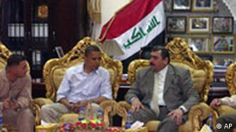 Barack Obama Nahost-Reise Irak