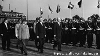 Praesident Eisenhower in Bonn, 1959 (picture-alliance / akg-images)