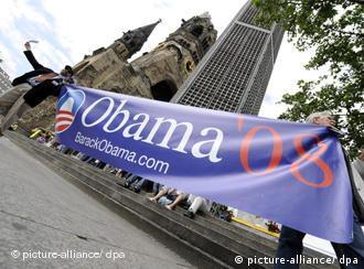 Obama poster in Berlin