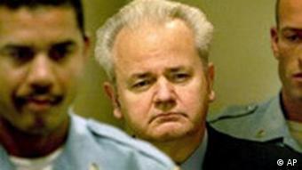 Slobodan Milošević u Haagu
