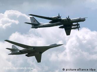two Russian bombers