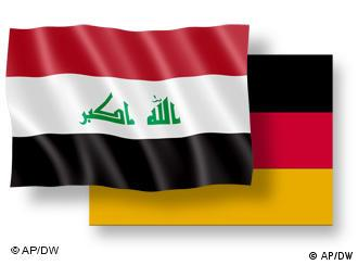 German and Iraqi flags