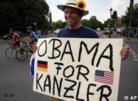 Ο Ομπάμα για καγκελάριος!