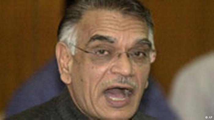 Shivraj Patil Innenminister in Indien 2004 (AP)