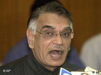 Indian Home Affairs Minister Shivraj Patil calls for calm in J&K