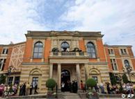 The Festspielhaus in Bayreuth