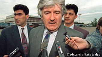Radovan Karadzic 1994, Quelle: dpa