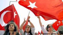 Demonstrantinnen gegen Regierungspartei in Türkei