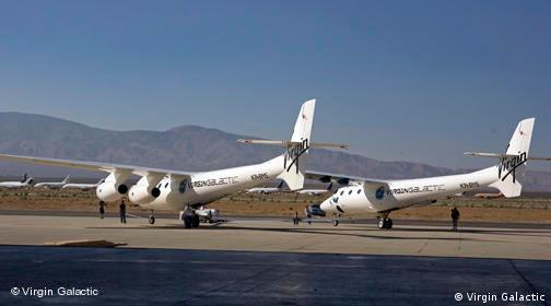 Richard Branson enthüllt Flugzeug für Weltraumtouristen - Eve